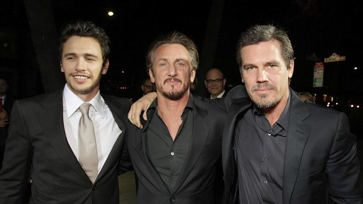 Milk Los Angeles premiere 2008 James Franco Sean Penn Josh Brolin