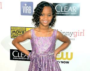 "Quvenzhane Wallis, 9, Reacts to Her Best Actress Oscar Nomination: ""I Am So Happy"""