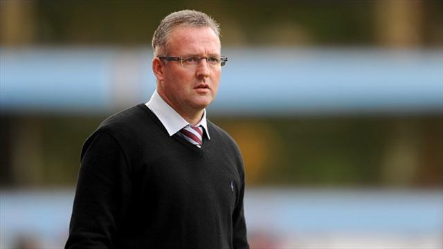 Premier League - Lambert focused on staying at Villa