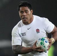 Manu Tuilagi will start at inside centre for England's second Test against South Africa