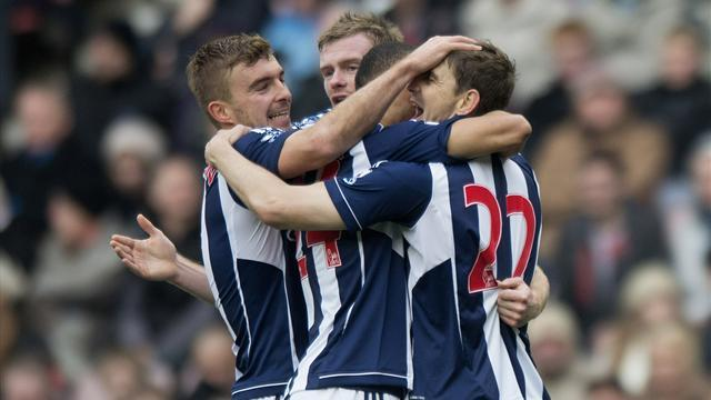 Premier League - West Brom end Norwich run