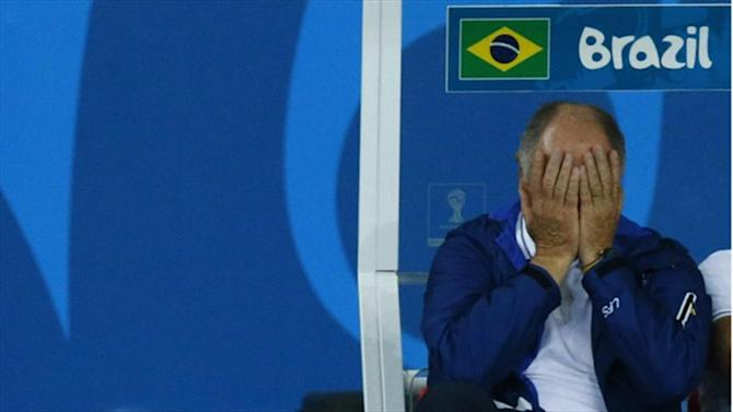 World Cup - Scolari resigns as Brazil manager
