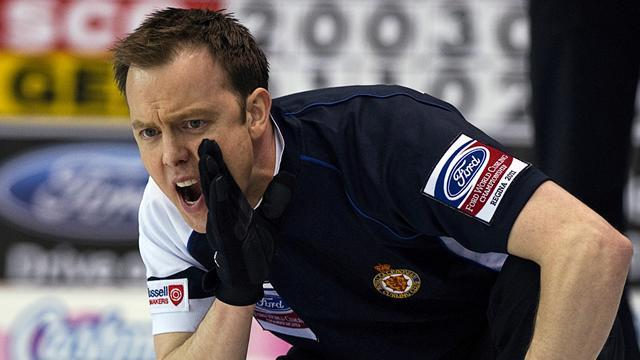 Curling - Scotland's men earn Worlds place with closing win at Euros