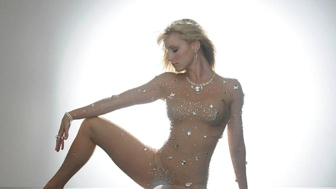 """Brittany (Heather Morris) dreams of being Britney Spears in the """"Britney/Brittany"""" episode of """"Glee."""""""