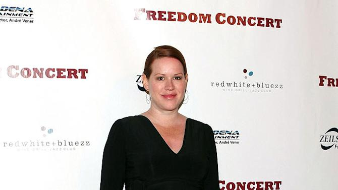 Molly Ringwald attends the Freedom Concert at the Pasadena Convention Center Grand Ballroom on April 4, 2009