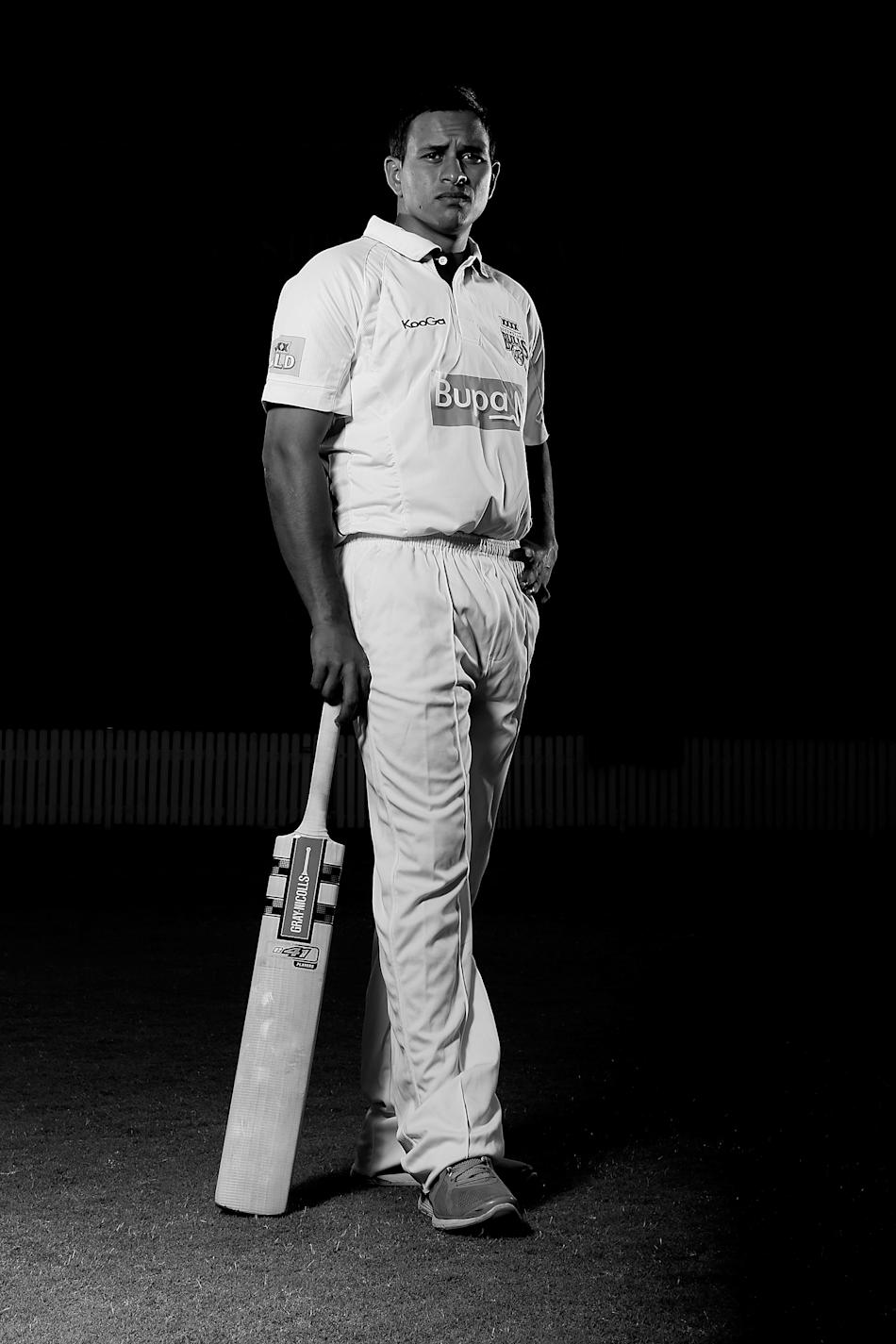 Usman Khawaja Portrait Session