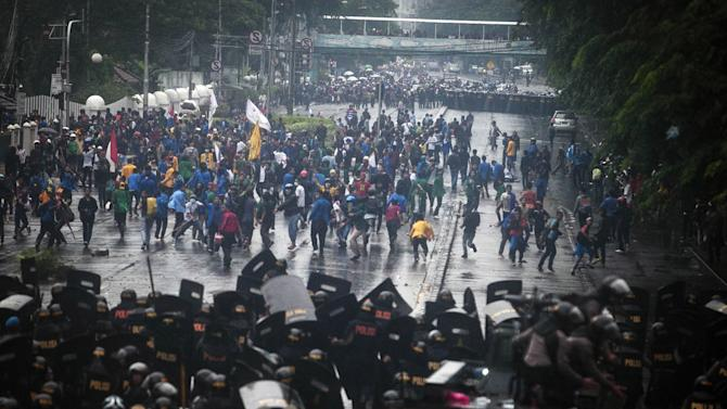 Students Protest Planned Fuel Hike
