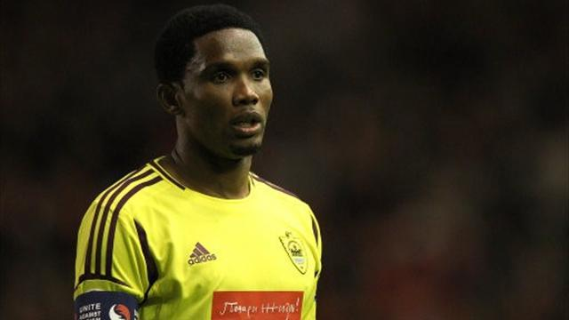 Europa League - Eto'o sends Anzhi through