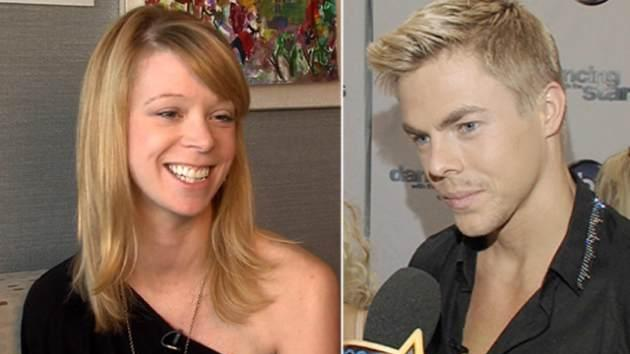 Adrianne Haslet-Davis, Derek Hough -- Access Hollywood
