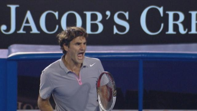 Highlights: Federer v Raonic