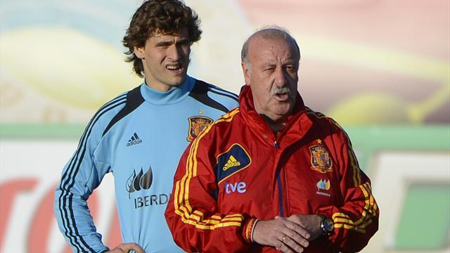 Confederations Cup - Del Bosque to test Spain's evolution in Brazil