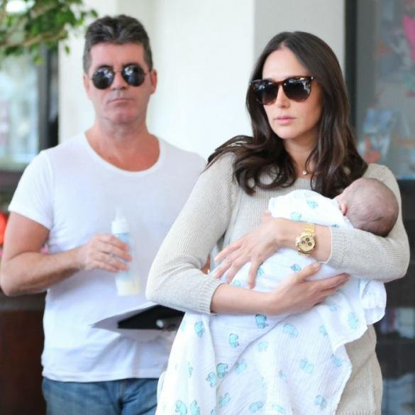 Simon Cowell Shares Adorable Video Of Son Eric Drumming To One Direction - WATCH