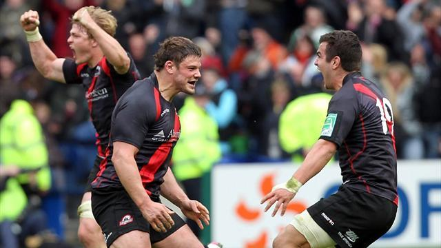 RaboDirect Pro12 - Edinburgh too strong for Ulster