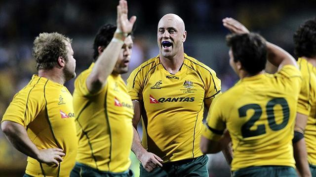 Championship - Wallabies adopt forward-thinking approach to Pumas test