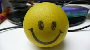 stress relief smiley face ball (natural anxiety remedies)