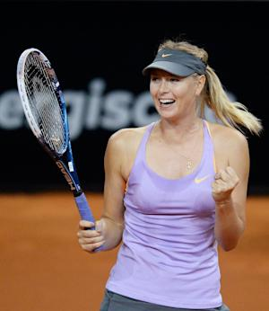 Sharapova beats Errani to reach Stuttgart final
