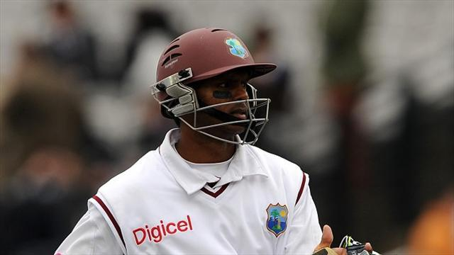 Cricket - Taylor, Narine keep Test even