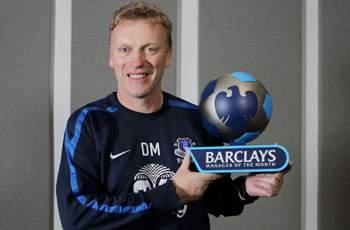 Everton boss Moyes named Premier League Manager of the Month for March