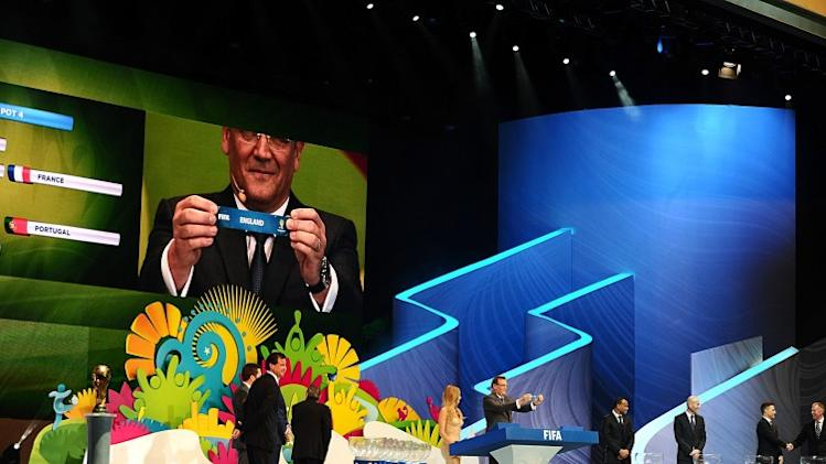 As it happened: 2014 World Cup finals draw
