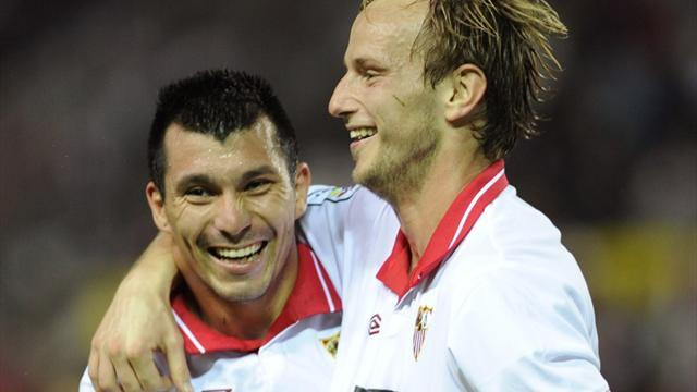 Liga - Rakitic happy at Sevilla