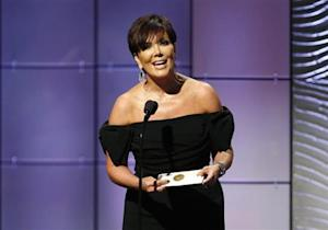 Jenner presents outstanding talk show host award during 40th Daytime Emmy Awards in Beverly Hills
