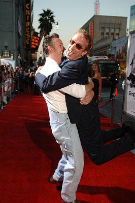 Harland Williams and Andy Dick at the LA premiere of Lionsgate Films' Employee of the Month