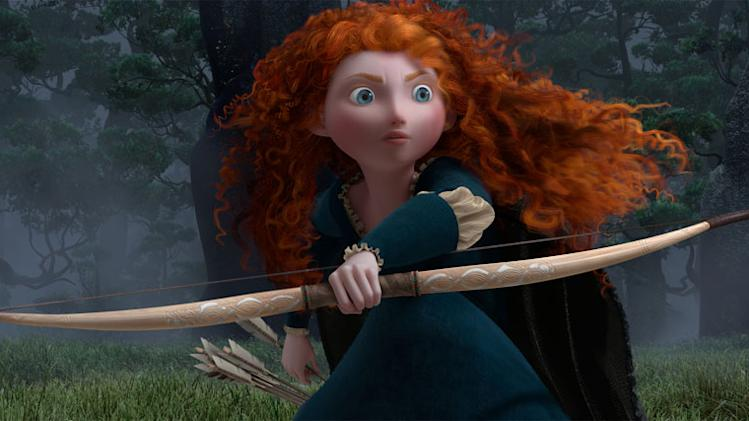 Merida (voiced by [c[Kelly MacDonald]]) in Disney/Pixar's Brave - 2011