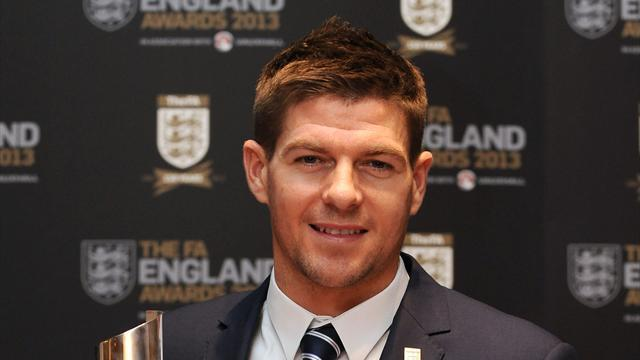 Football - Gerrard proud of FA award