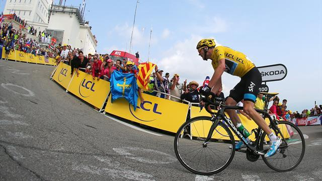 Tour de France - Froome strengthens lead with victory on Mont Ventoux