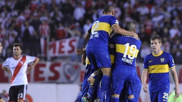 South American Football - Boca upset River 1-0 in 'superclasico'