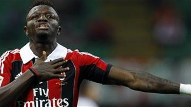 Italian Serie A - Muntari: Milan still want second