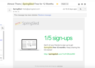 The 3 Hacks That Got SpringSled 138,790 Users In Less Than 40 Days image 1 5