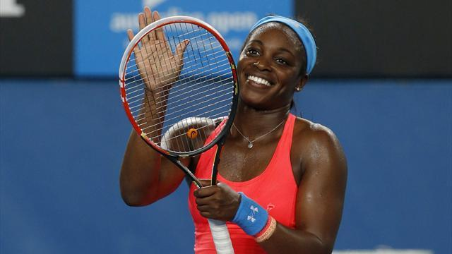 Australian Open - Stephens: I did not celebrate Serena loss