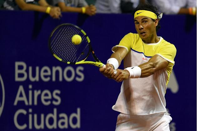Tennis - Nadal returns with a win in Buenos Aires