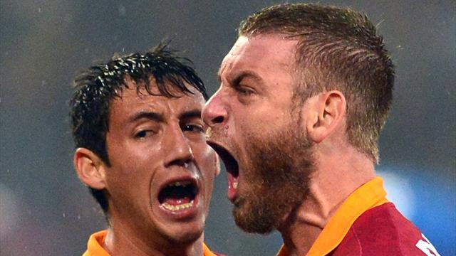 Serie A - De Rossi returns for Roma after suspension