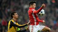 The centre-back has been forced off during the first leg of the Gunners' Champions League tie, with the hosts taking advantage with quick-fire goals