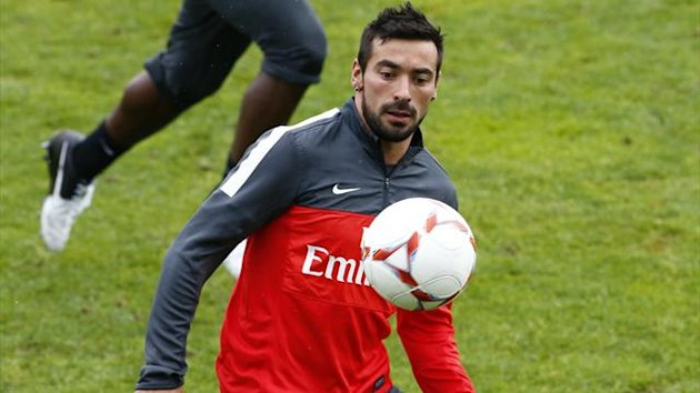 FOOTBALL 2012 PSG Paris Ezequiel Lavezzi