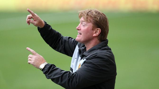 Stuart McCall during the Champions League qualifier against Panathinaikos