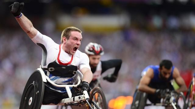 Bushell finally upgrades Paralympic silvers to gold