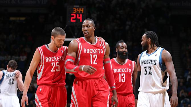 Howard leads Rockets past Timberwolves 107-89