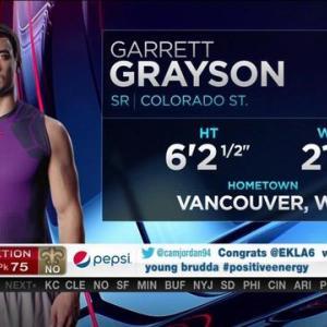 New Orleans Saints pick quarterback Garrett Grayson No. 75 in 2015 NFL Draft