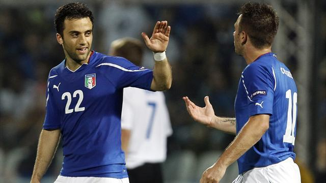 World Cup - Italy forward Rossi out of Germany clash