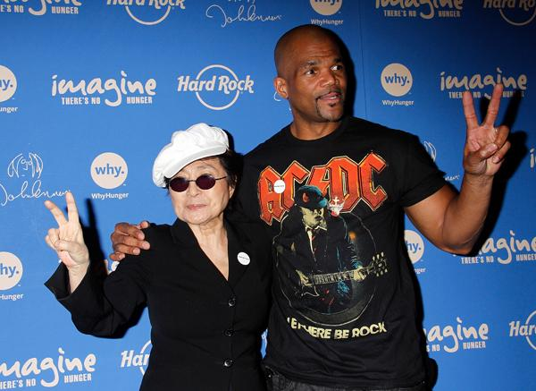 Yoko Ono and D.M.C. Team to Fight World Hunger