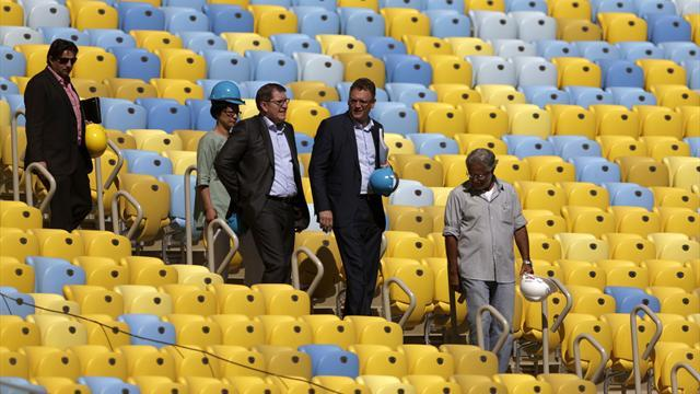 World Cup - FIFA says Sao Paulo stadium will be ready on time