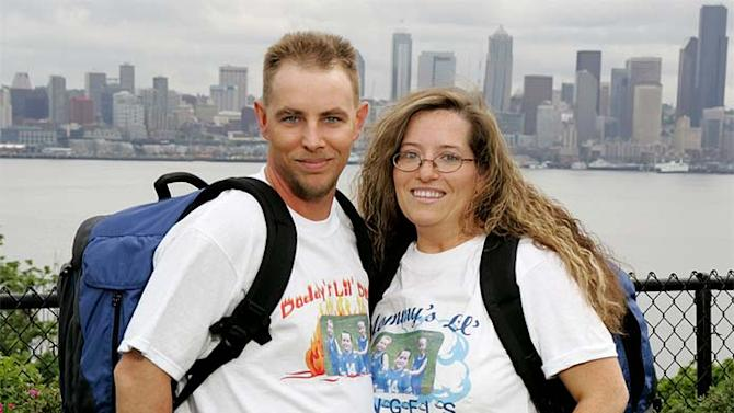 Married teammates David and Mary from the small community of Stone, Ky are competing in The Amazing Race 10 on CBS.