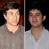 Sunny Deol Shows His Son Karan Deol The Way Forward!