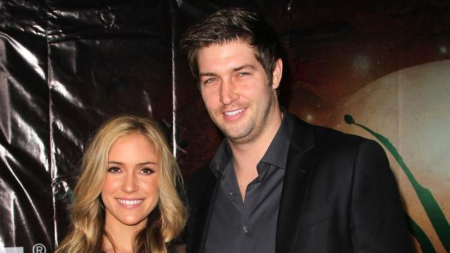 Kristin Cavallari and NFL Jay Cutler attend the Opening Night Of Cirque du Soleil's 'OVO' at the Santa Monica Pier in Santa Monica, Calif., on January 20, 2012  -- Getty Images