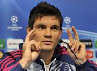 Lyon's Croatian international defender Dejan Lovren, seen here in December 2011, looks doubtful for Euro 2012 after injuring his right foot during the French Cup final against Quevilly