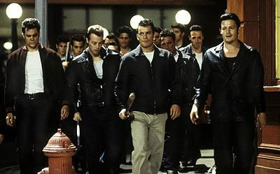 Johnny Knoxville (far left), Balthazar Getty (second from right) and Norman Reedus (far right) in United Artists' Deuces Wild
