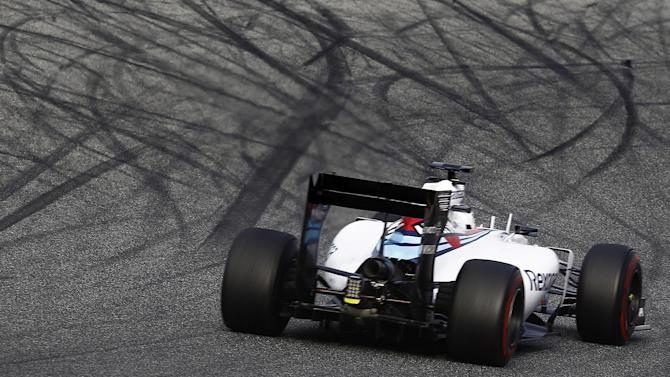 Formula 1 - Valtteri Bottas wraps up testing with Williams on top